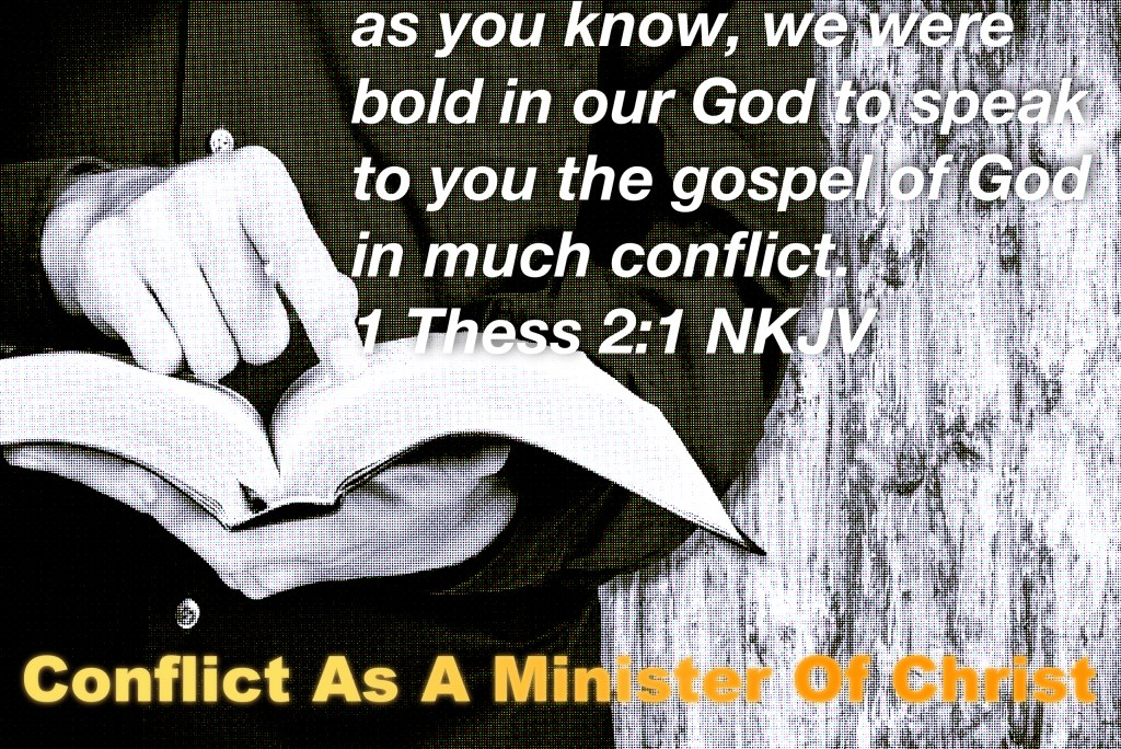 Conflict As A Minister Of Christ